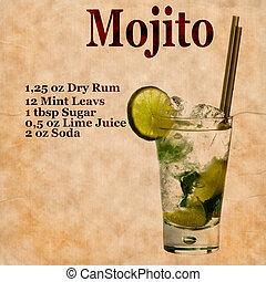 mojito, recette