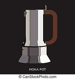 Moka Pot - Italian Coffee Maker