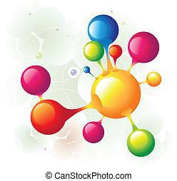 molécula, 10
