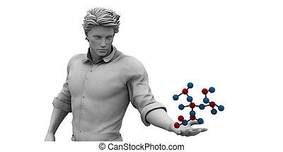 molécula, estrutura