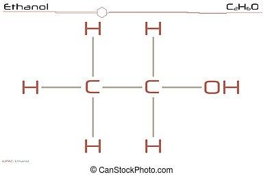 molécule, éthanol