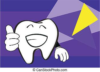 molar dental cartoon wallpaper1