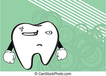 molar dental cartoon wallpaper2