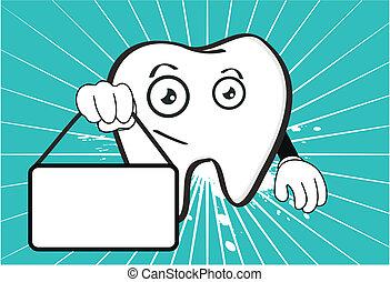 molar dental cartoon wallpaper3