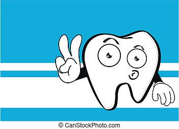 molar dental cartoon wallpaper4