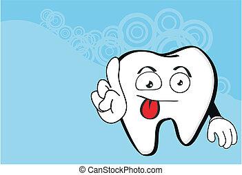 molar dental cartoon wallpaper5