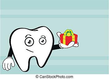 molar dental cartoon wallpaper7