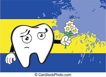 molar dental cartoon wallpaper8