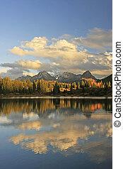 Molas lake and Needle mountains, Weminuche wilderness, Colorado