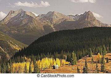 Molass pass, Rio Grande National Forest, Colorado, USA