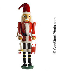 molded figure of santa claus
