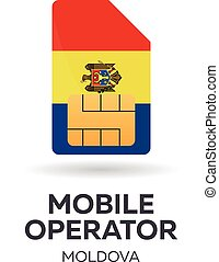 Moldova mobile operator.