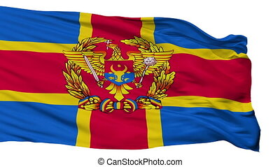 Moldovan Armed Forces Flag Isolated Seamless Loop - Moldovan...