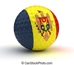 Moldovan Golf Ball