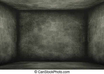 Moldy and vintage old darkroom, Historical wall background.
