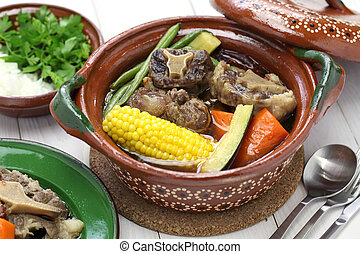 mole de olla, mexican cuisine