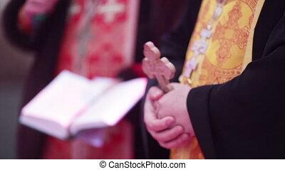 Moleben - Two spend a priest Christian prayer