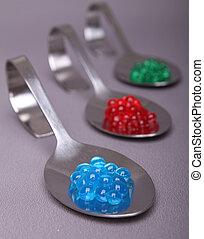molecular, caviar