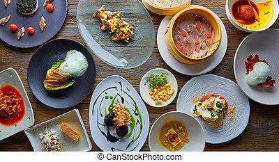 Molecular gastronomy recipes Modern cuisine