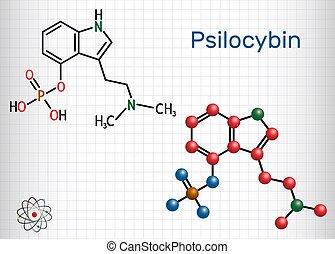 molecule., シート, alkaloid, prodrug., 分子, それ, 化学物質, ペーパー,...