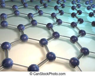 Molecule 8 - Conceptual model of molecular structure -...