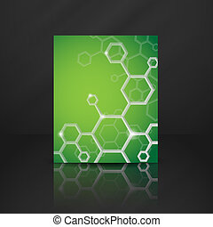Molecule Abstract Background.