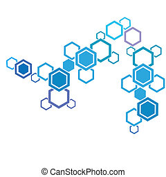 Molecule And Communication Background - Molecule and...