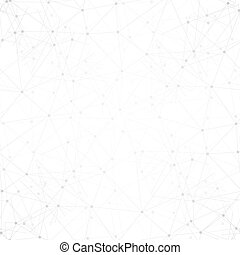 Molecule structure background, seamless pattern. Business template for webdesign, science design vector illustration