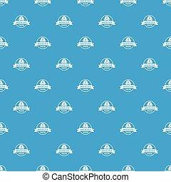 Molecule water pattern vector seamless blue