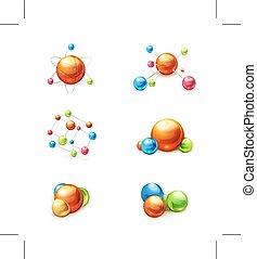 molekül, heiligenbilder