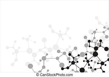 molekül, hintergrund