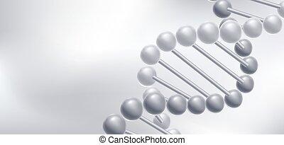 moleküle, structure., dns, hintergrund