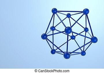 molekula, viszonoz, -, ábra, 3