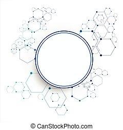 molekular, anschluss, struktur