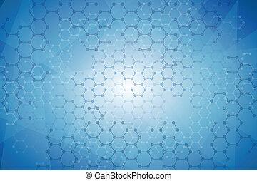 molekularny, tło