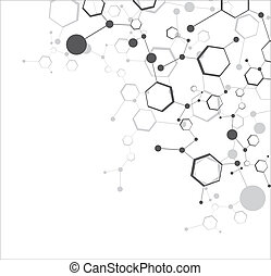 molekylær, strukturer