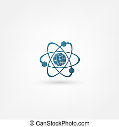 molekyl, ikon