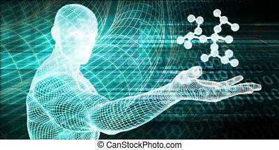 molekyl, struktur