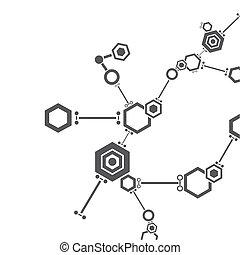 molekyl strukturera