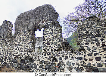 molen, ruïnes, suiker