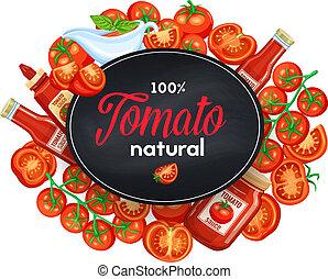 molho, ketchup, tomates