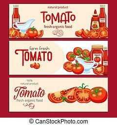 molho, tomates vermelhos