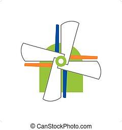 molino de viento, concepto