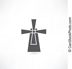 molino de viento, icono