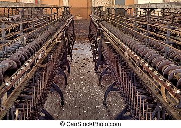 molino, fábrica de seda