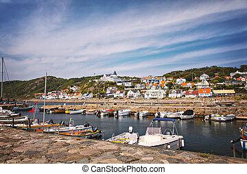 Molle fishing village
