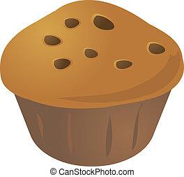 mollete, cupcake