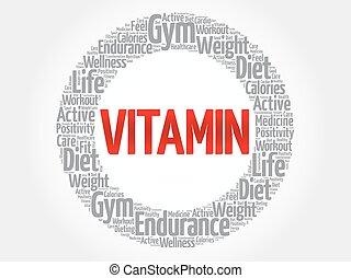 moln, ord, vitamin, fitness