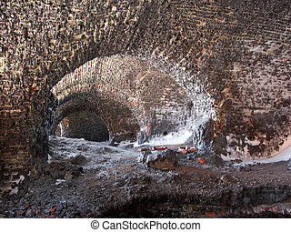 Molten fortress - Molten brick fortress