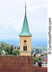molti, città, germania, storico, attrazioni, ravensburg